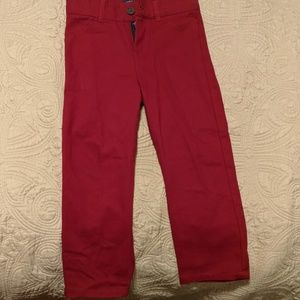Andy and Evan Dark Red Pants Size 4T